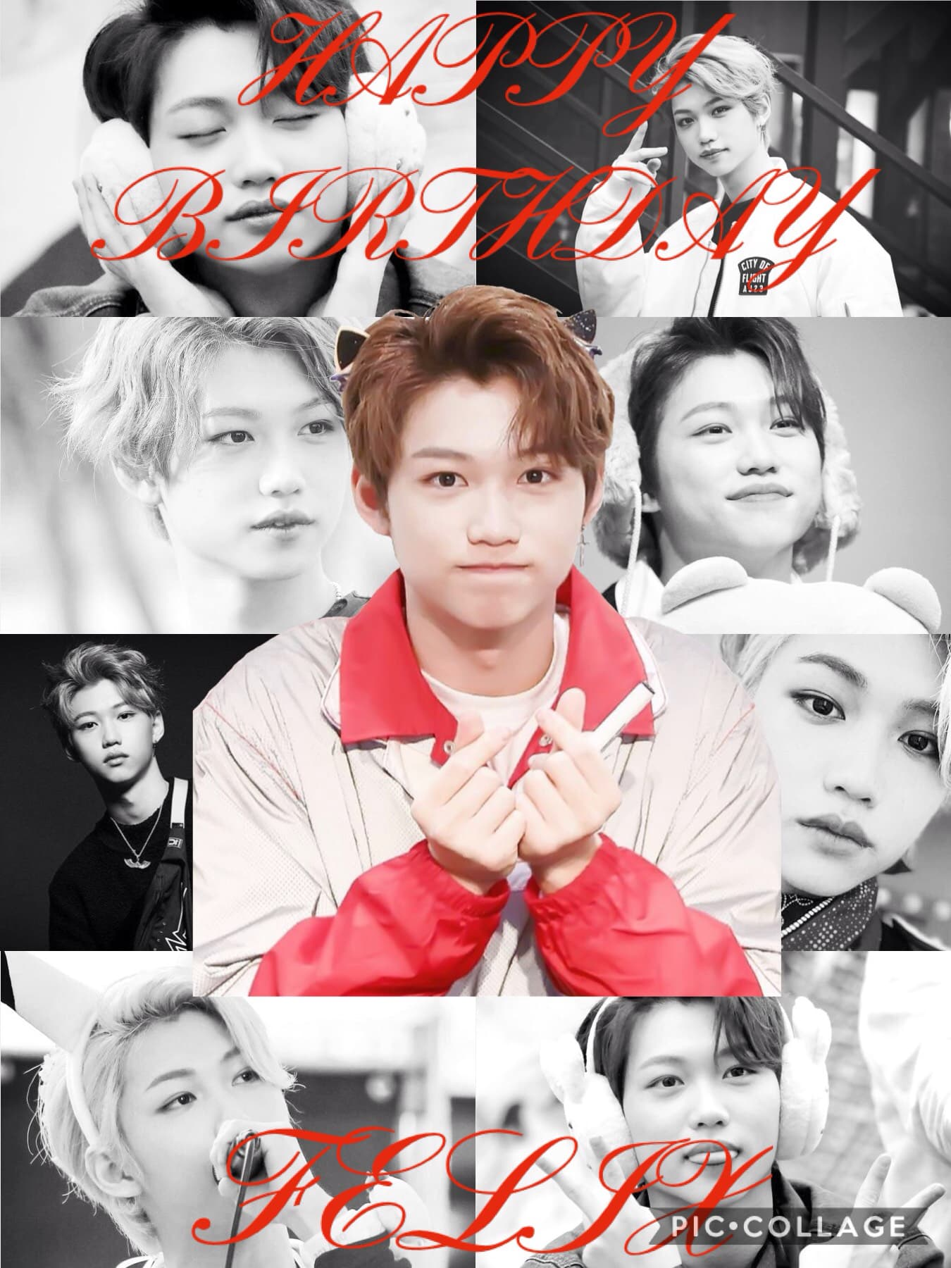I just started listening to Stray Kids 3 days ago and I already know his birthday, I have a problem. Sorry that I haven't posted an actual edit, I will try to soon. Anyways, HAPPY BIRTHDAY TO THIS BEAUTIFUL AMAZING HUMAN BEING!!!