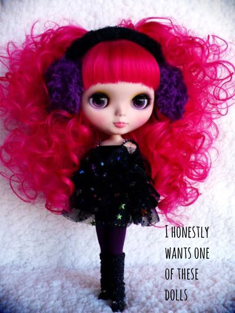 I honestly wants one of these dolls