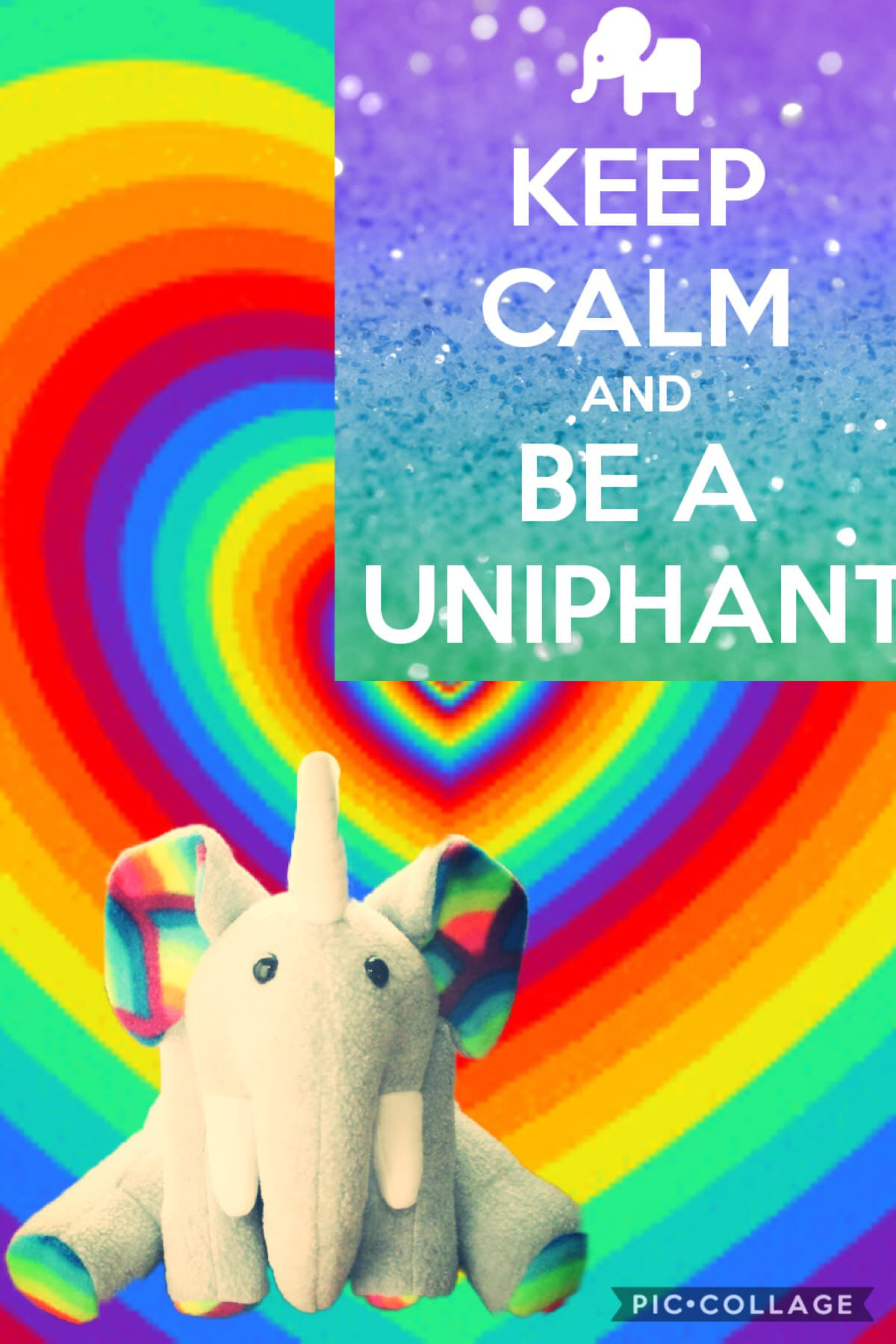 Tap This is so cute I love uniphants