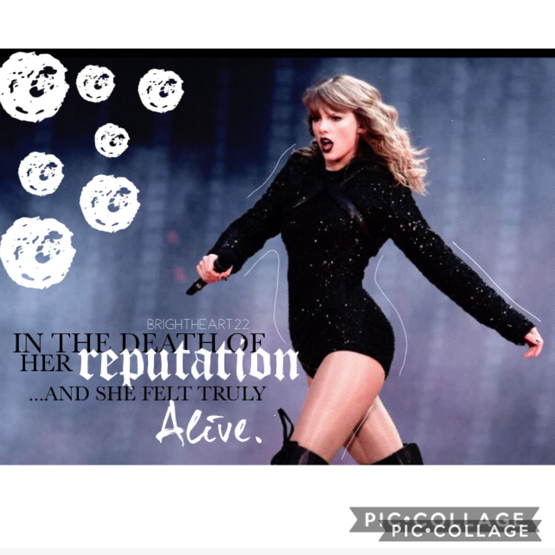 ✨Tap✨ Hello loves! I've been binge listening to Taylor Swift so I got inspired lol She's amazing  Anyway I'm being active! Y'all should be proud 😁 Have a good evening  💙💙💙