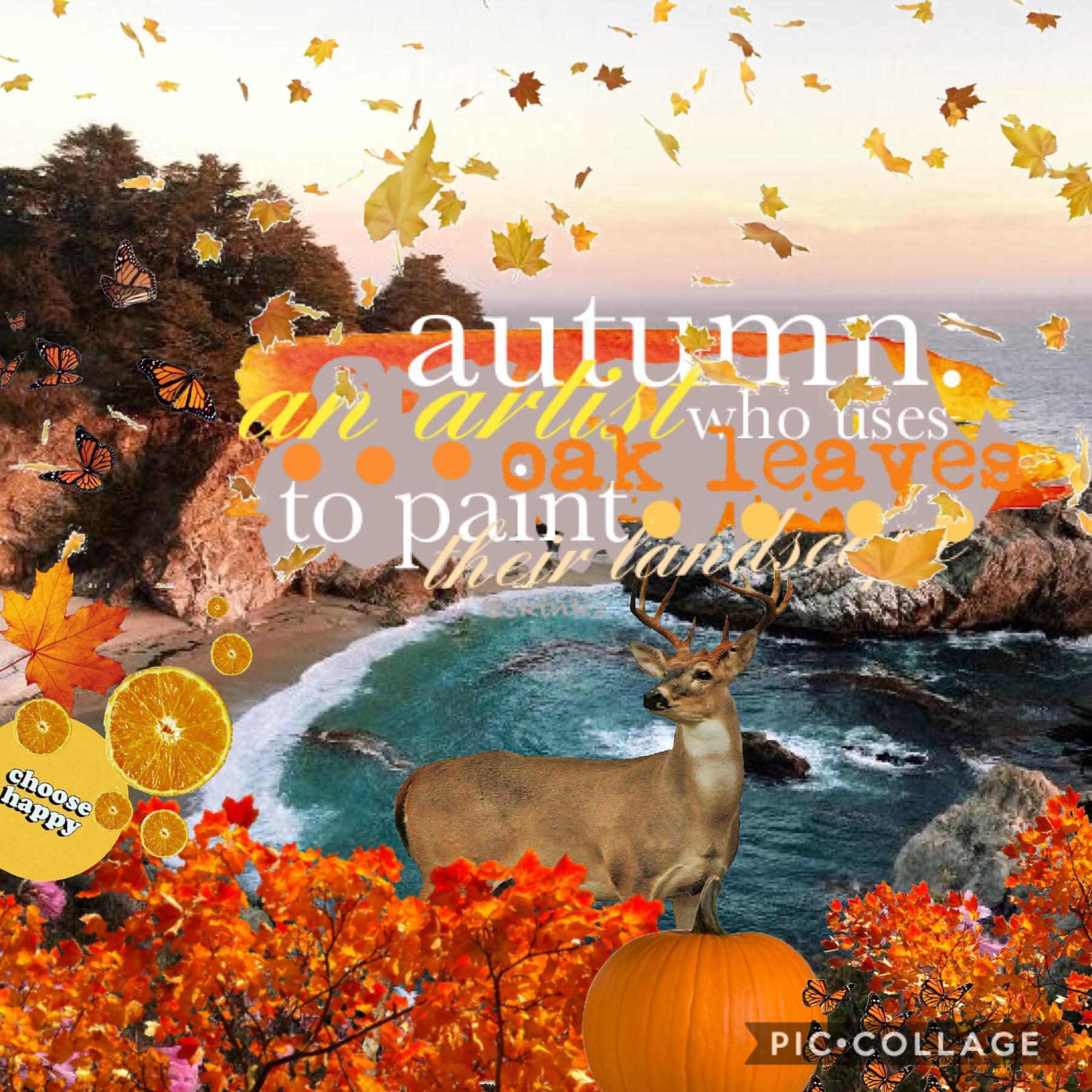 Fall/Autumn vibes! QOTD: favorite vacation area? AOTD: the mall of america!  #fall @skinkz @leila101
