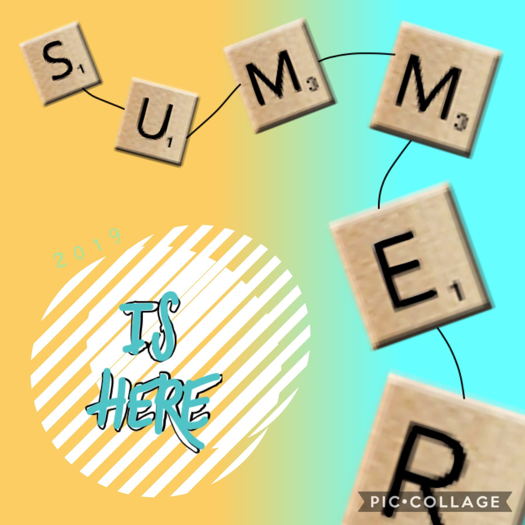 Happy first day of summer! 😎 2️⃣0️⃣1️⃣9️⃣ 🏝 🎆 🌞 🐚 💦 🎢 💚 🗓 🍦 🧳 I can't wait for fall tbh, I hate summer. 🕷 😅 🍁 I mean yeah certain stuff is fun, but I can only do things on weekends, and even that is hardly anything, so it's unfortunate for me. 🤷🏻‍♀️