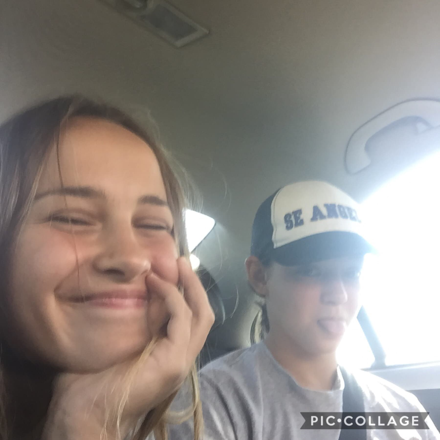 Karlee and I just won both games in a double header good job district 1 aka southeast drillers off to the big tournament we go!!😀😃