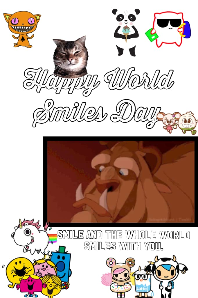 Happy World Smiles Day!