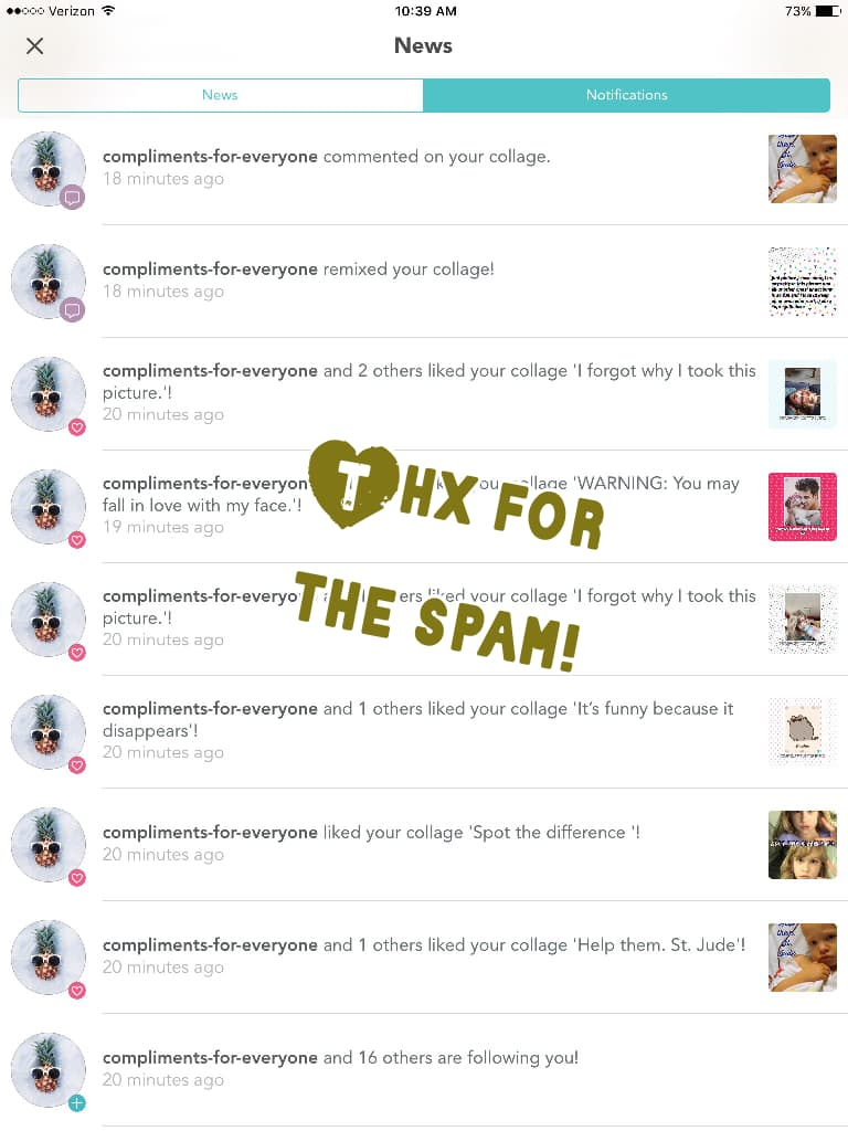 Thx for the spam!
