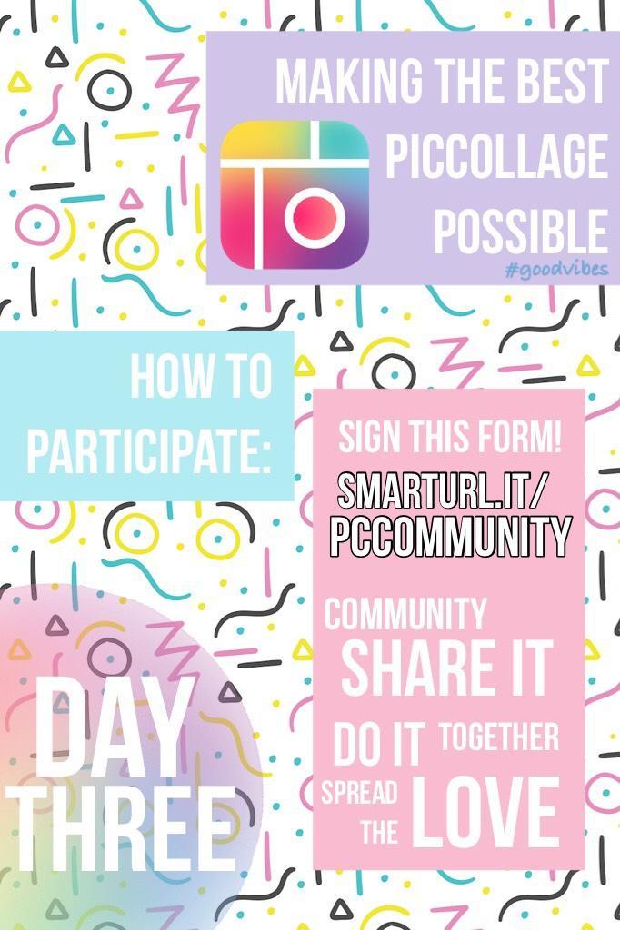 Day 3 Community!
