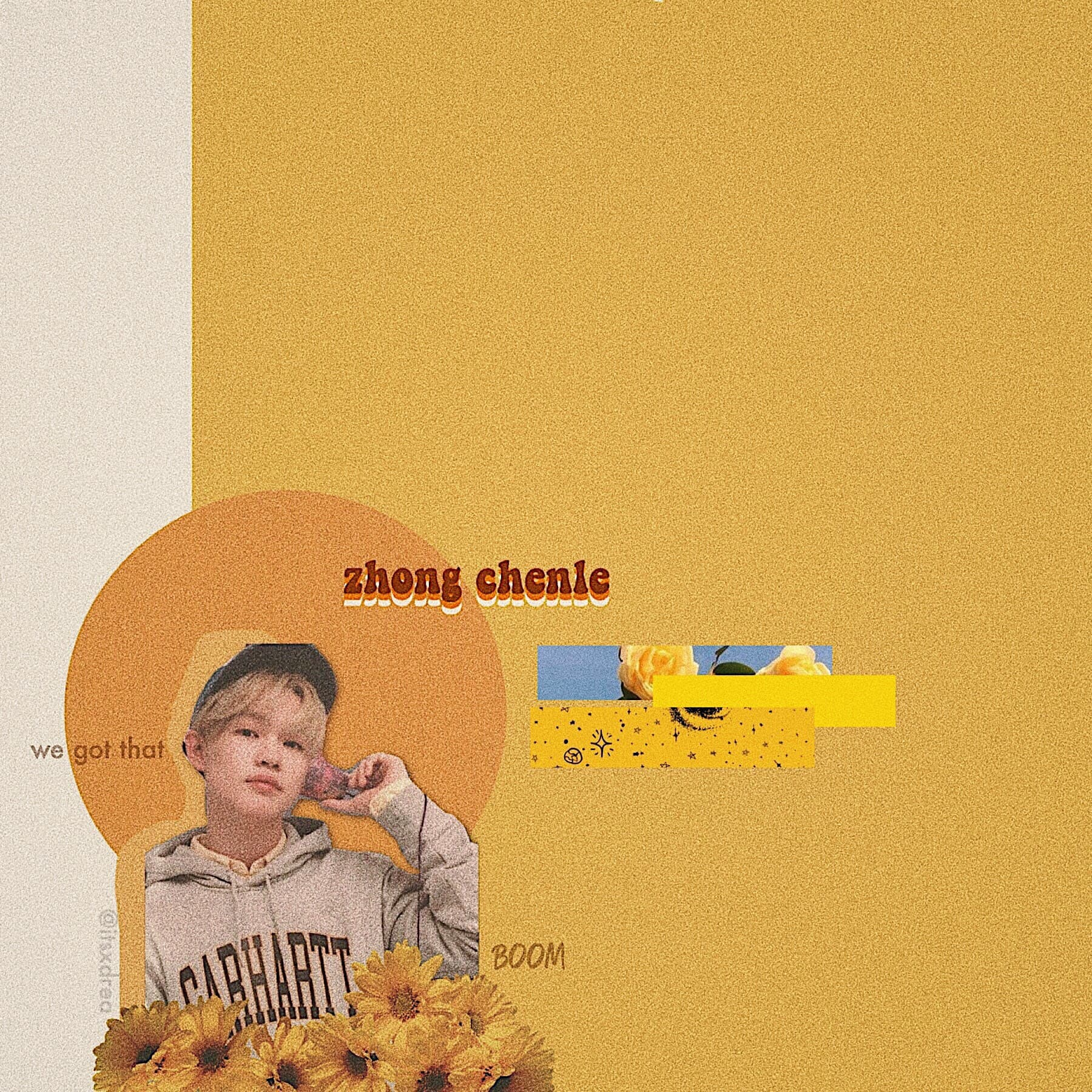 🍯 • zhong chenle // nct • > edit request for @angelbun < uh i think i went overboard on the grain effect, but tbh it's not a drea edit without, THE GRAIN IVE BEEN WATCHING SO MANY KDRAMAS LATELY AND IM SO HAPPY LOL *peep the remixes for my recs*