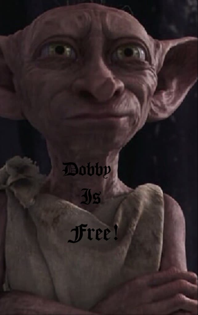 Dobby is free!!!!!!!!!!!
