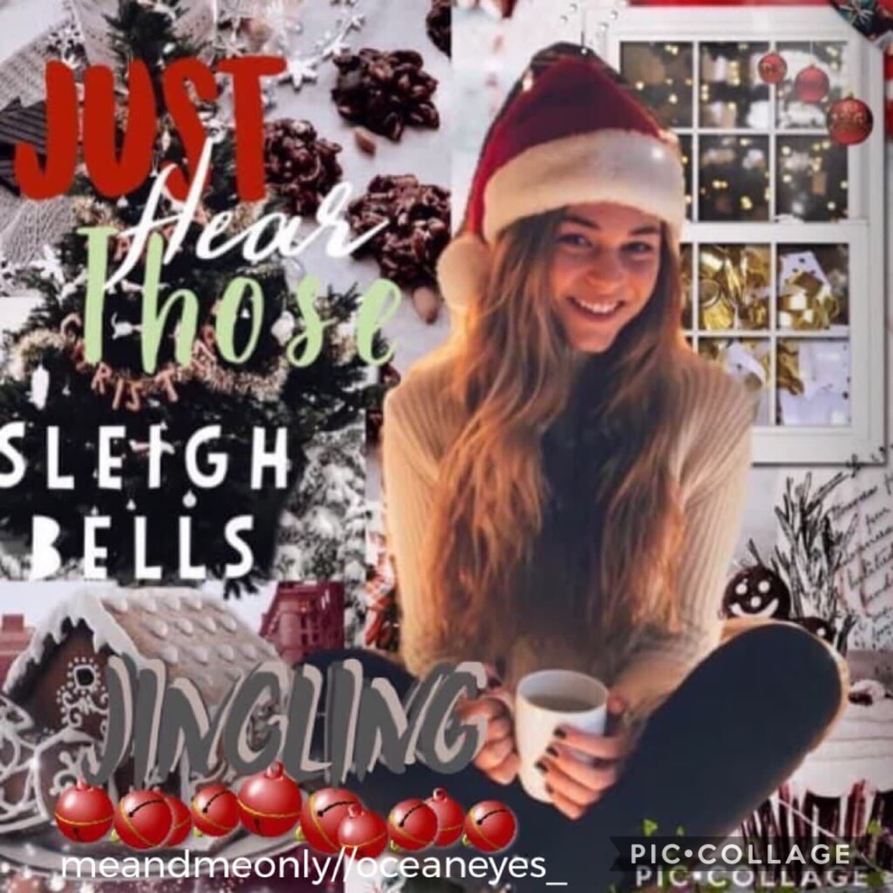 collab with @oceaneyes_ everyone go follow this amazing gal!! she's super talented as she did the text and picked out the pictures!! ❤️🎄omg it so hard to make Christmas edits cause I'm running low on christmas pics, on christmas I'm posting an edit and I'
