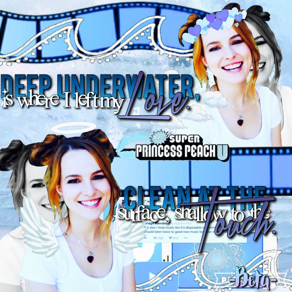 """💖 Can this please be featured? I really want Bridgit Mendler to see this because I love """"Atlantis"""". 💖"""
