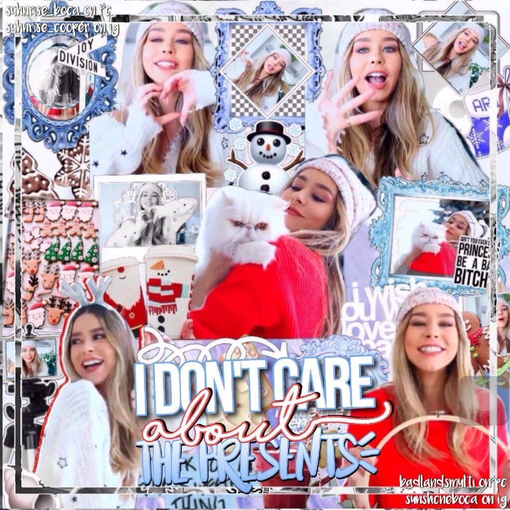 tap me! hi, this edit is so cute 😍 collab with mikaela (i forgot your username oops) who's ready for christmas? me 🙋🏻‍♀️🎅🏻  posting tomorrow :)