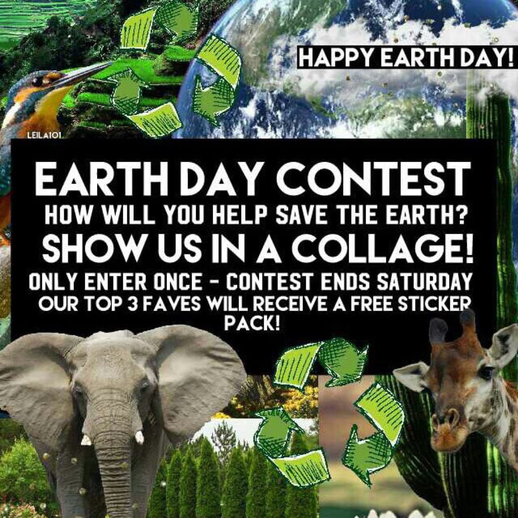 Earth Day Contest!