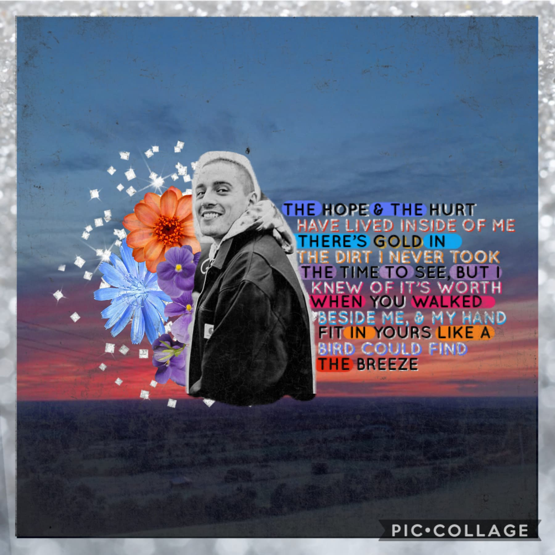 """to celebrate the release of Dermot Kennedy's new song """"Giants"""", I made this edit featuring his beautiful lyrics ♥️ i know I've gushed about him a lot on here , but I highly suggest you go listen to the song 😉"""