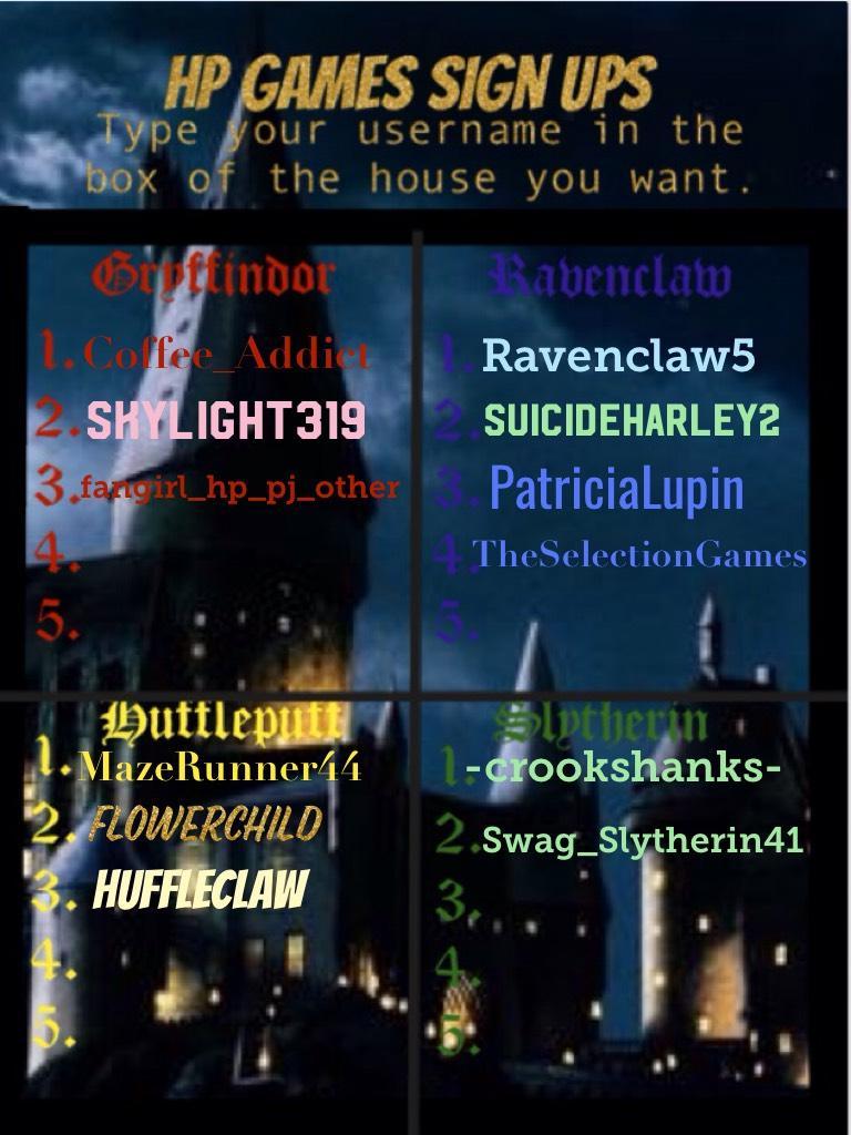 Join hogwarts!