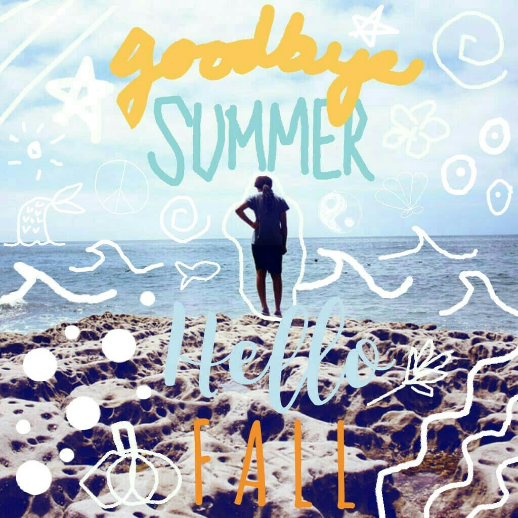 Summer is almost over! :(( Hope u like this, sorry it took a long time to make