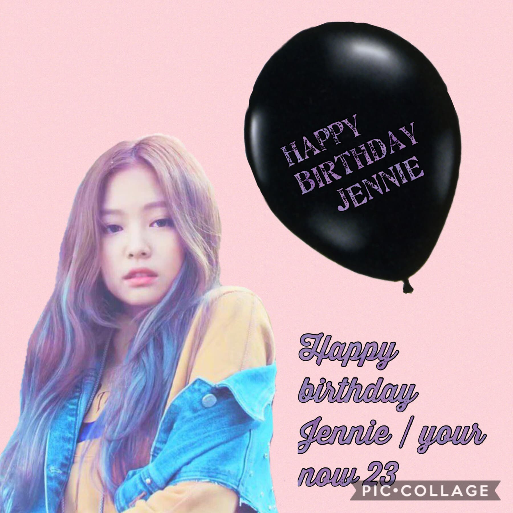 Like if you wish Jennie a happy birthday
