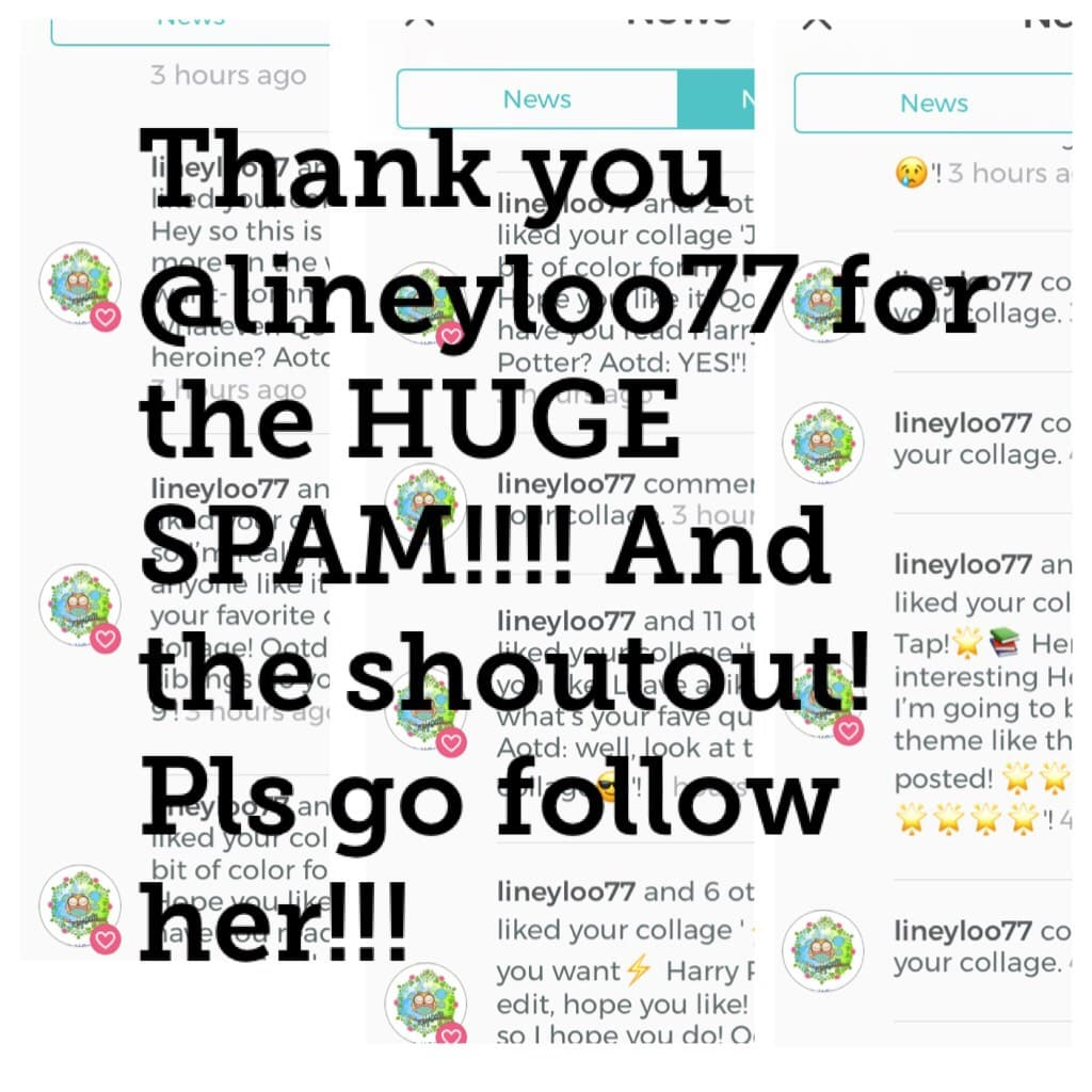 Thank you @lineyloo77!!!!!!!!!!  She's so nice and thank you guys for liking my posts it means a lot :)