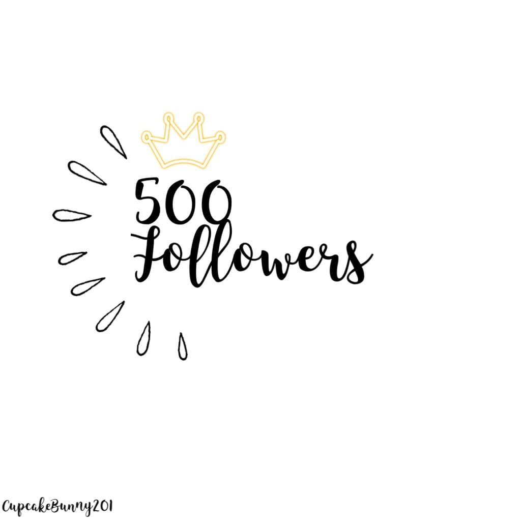 500 Followers!! Thanks everyone who took a few seconds to pressed that button. This is so exiting thank u so much!  Like & Follow