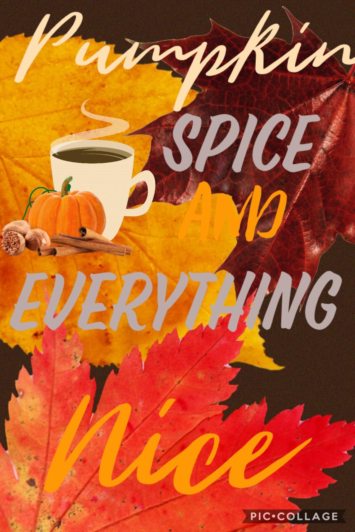 Fall Feelings are up! Just got a pumpkin spice latte from my boyfriend. So sweet!!