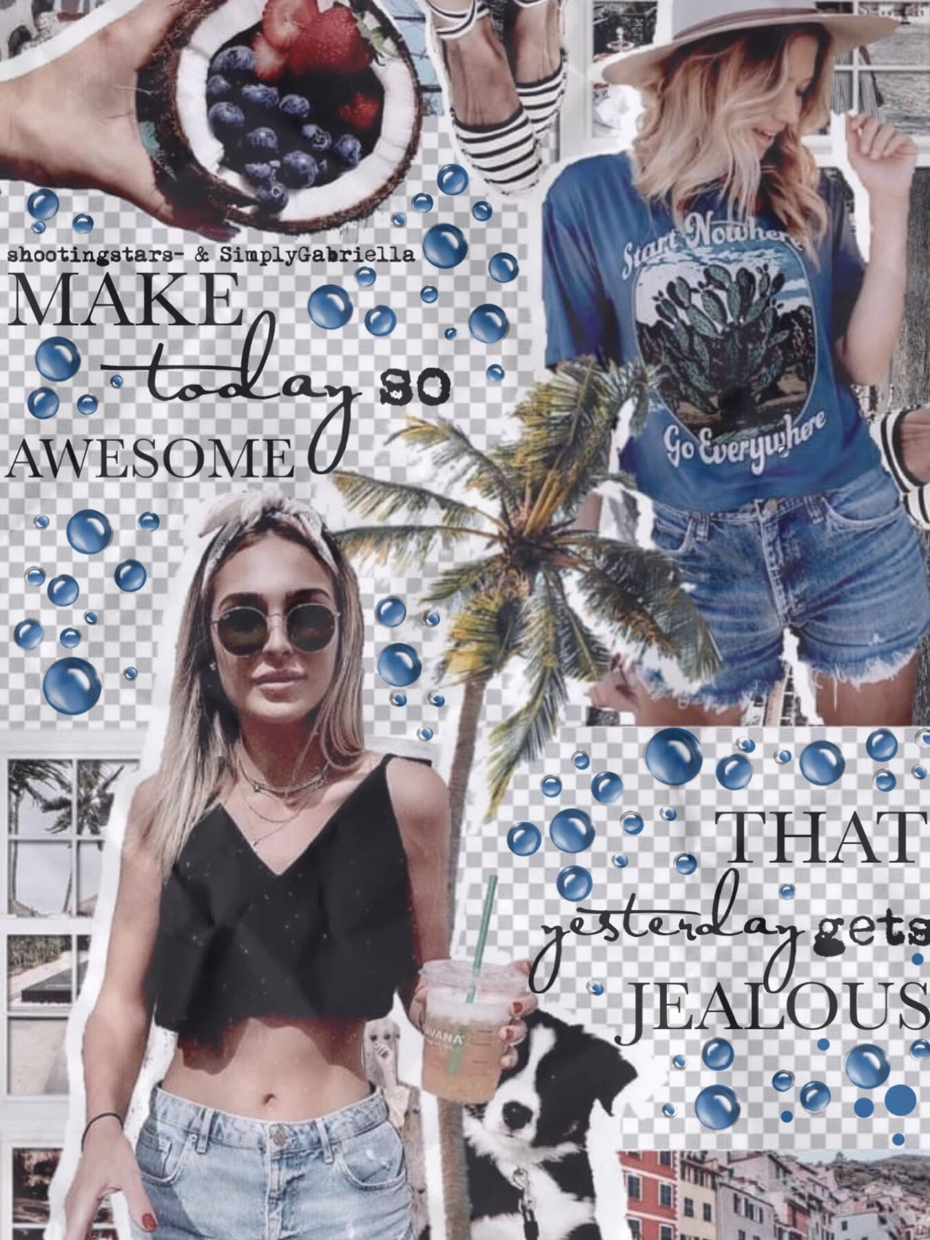 Collab with the awesome... TAP 🌴shootingstars-🌴 She did the amazing background and I did the text Go follow her!! How are y'all doing today?