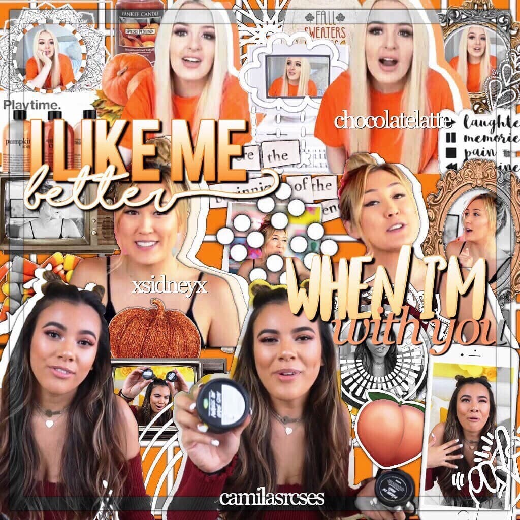 Three way collab with xsidneyx and camiliarcses!!🎃💛  HAPPY FALL 😊