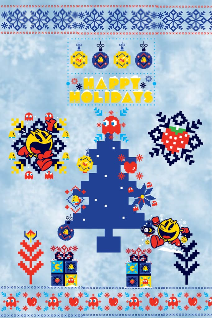 Happy Holidays from Pacman!