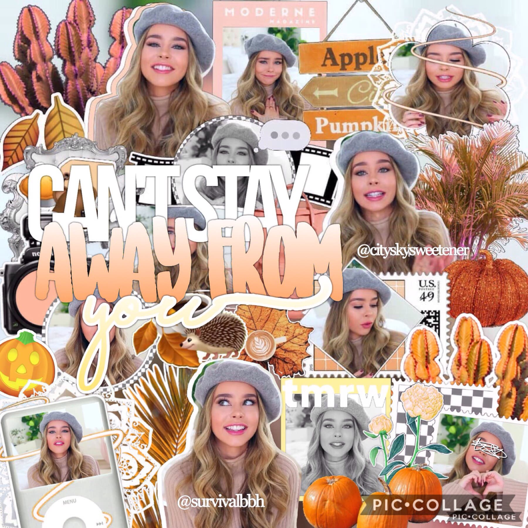 collab with the talented @cityskysweetener!!🍯 I'm loving all these fall collabs😍 comment for collab!