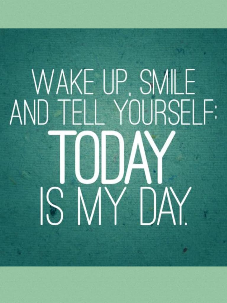 Today is my day! It is also your day! Have fun and be happy, as always :D