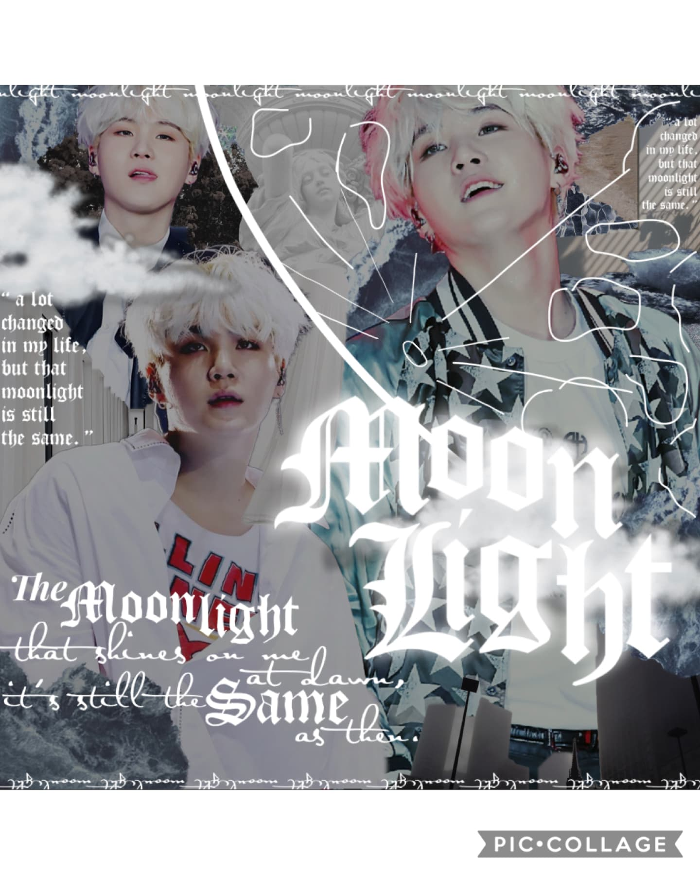 ||🌙|| MOONLIGHT - AGUST D ||🌙||  wanted to use a different song for this, but it didn't fit as well ; listen to people by agust d + look up the lyrics 😔 ; BTS NEW SINGLE OUT ON THE 21st !! ; ilyasm! — august