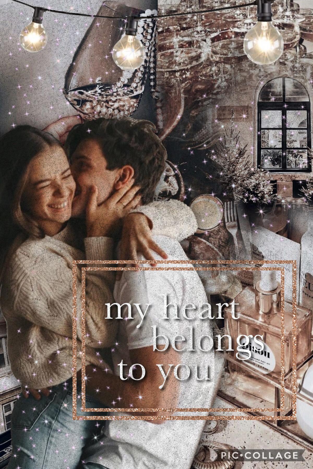 My heart belongs to you💖