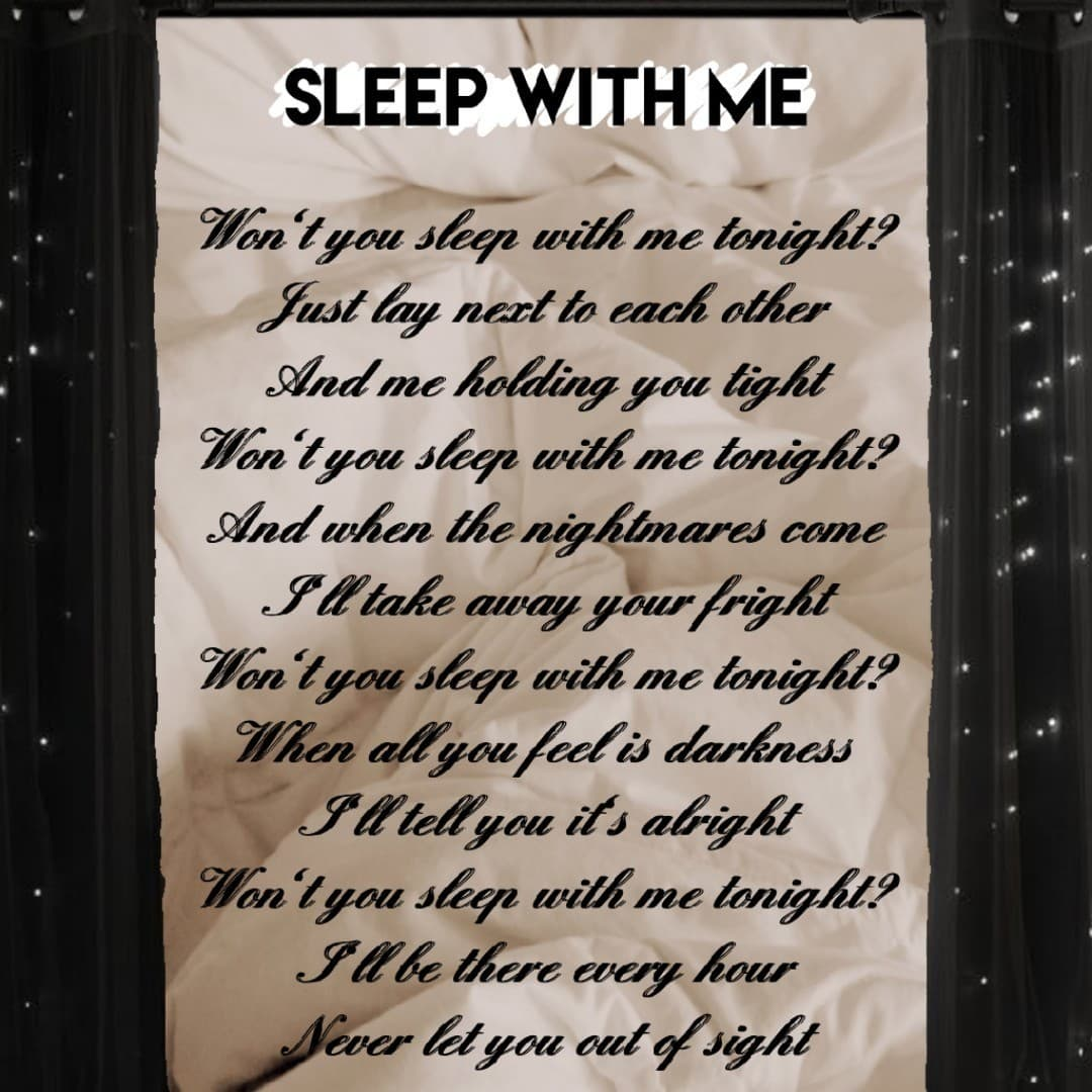 Here's the poem. Thank you all for actually reading the explanation and for all your kind comments. I'm seriously so glad to be part of this community, I love you all ❤