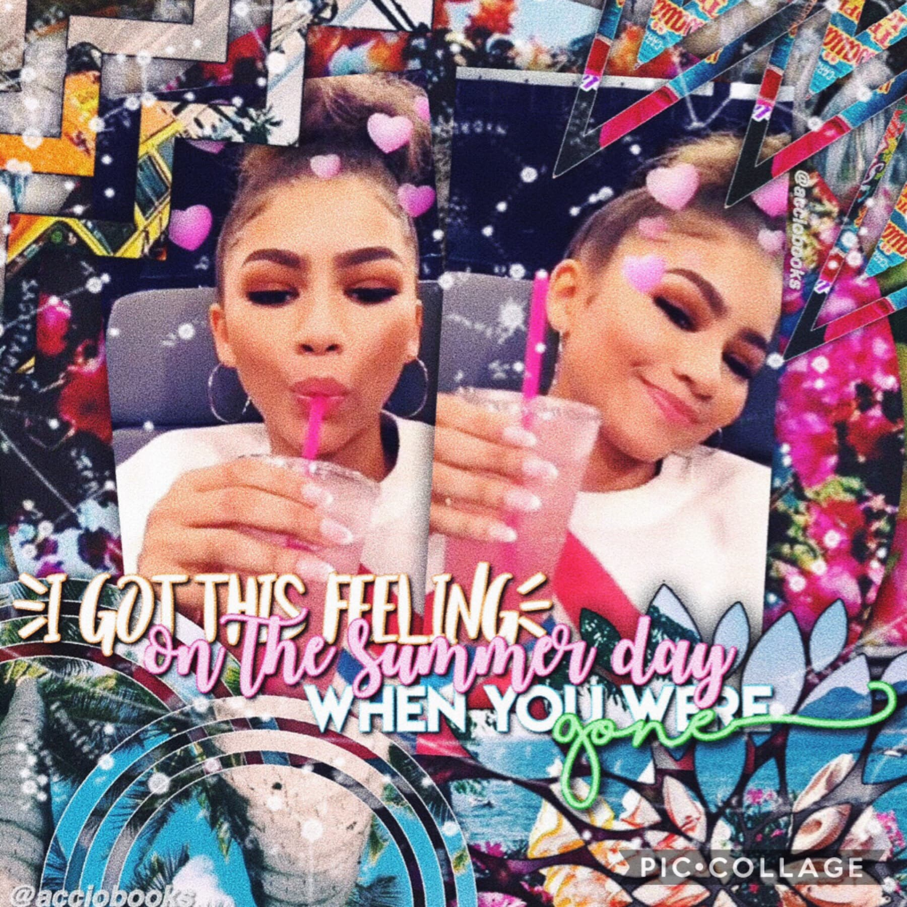 aah I keep being super inactive I'm sorry but here's a zendaya edit💗🌸🌴