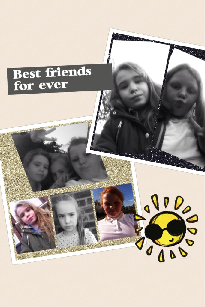Best friends for ever!