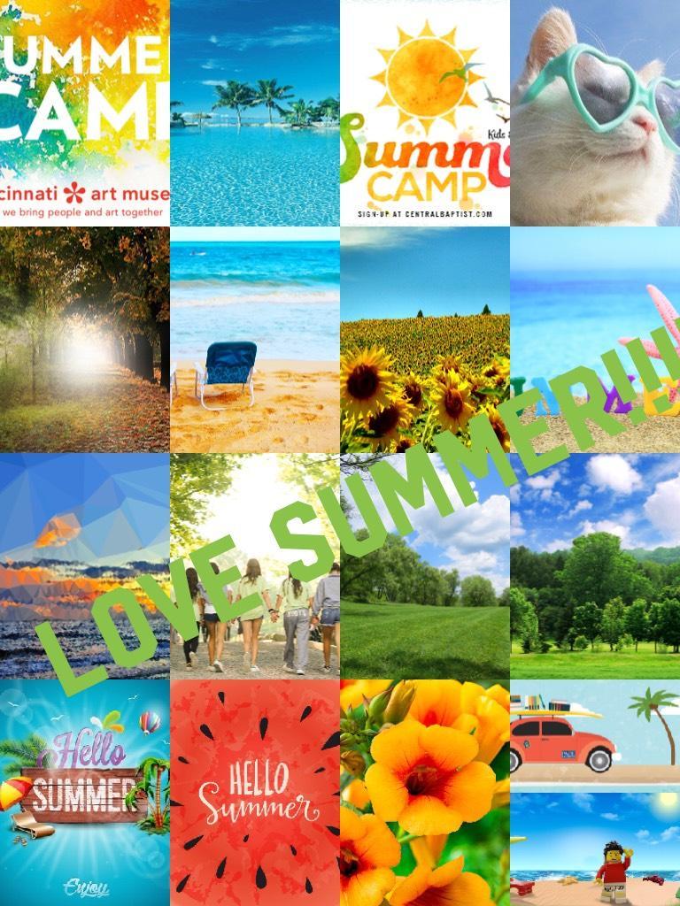 Love summer!!!!