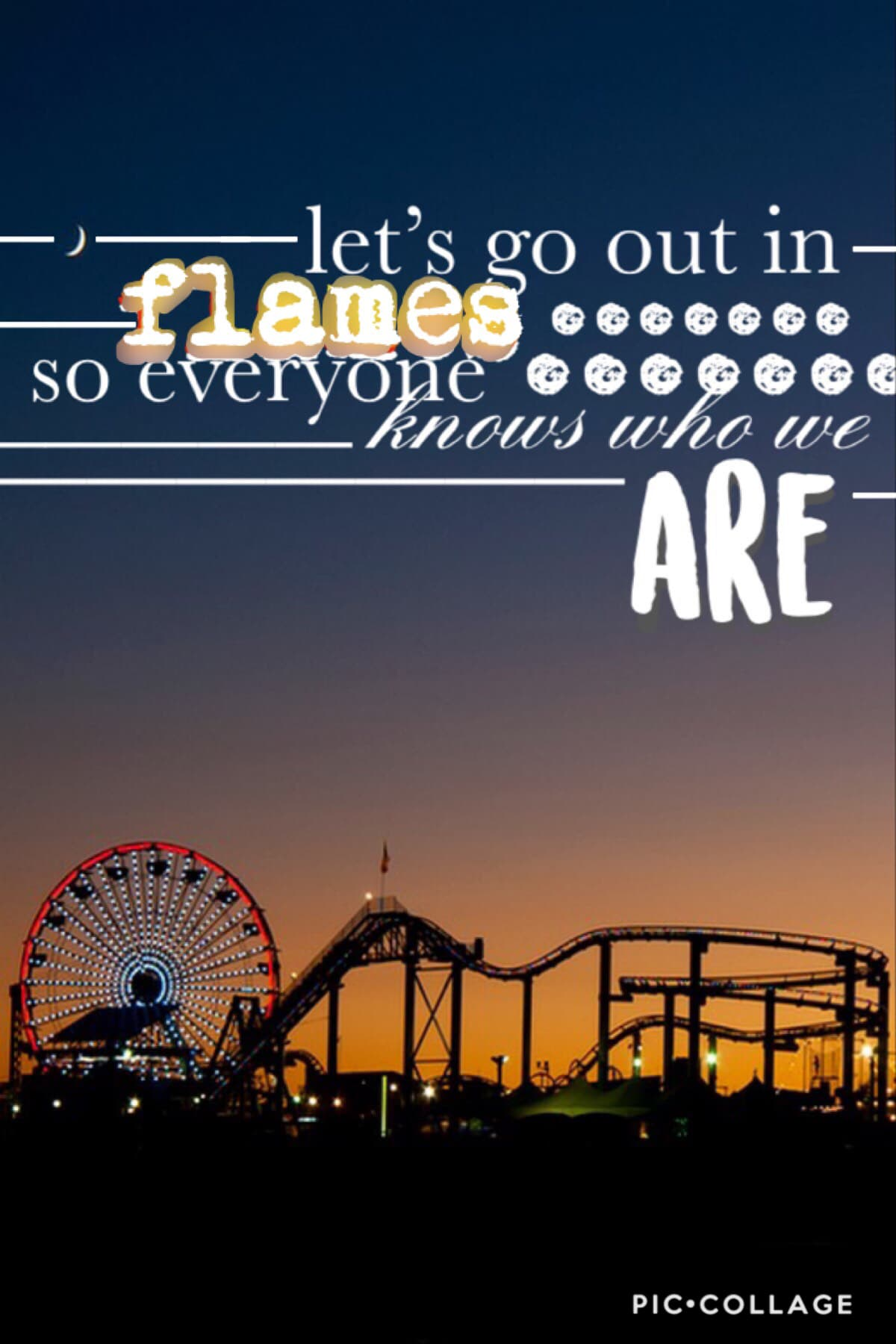 If anyone can get which song this quote is from they get a shotout!! xx