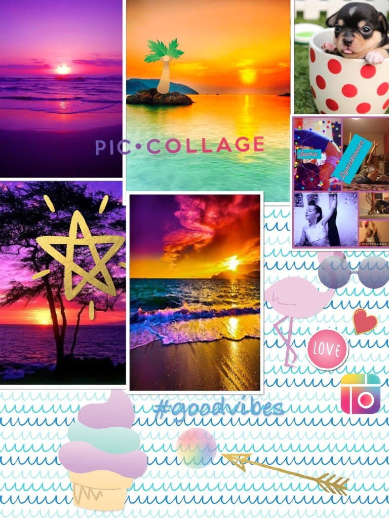 I wish I can go to those beaches and the sun (-Question;of;the;Day-) Do u think the pic collage logo looks similar to the instagram logo 🤷♀️🤔