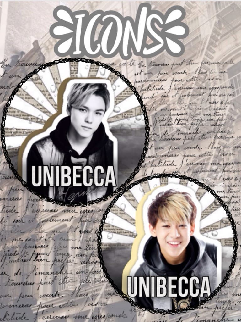 Unibecca here are your icons