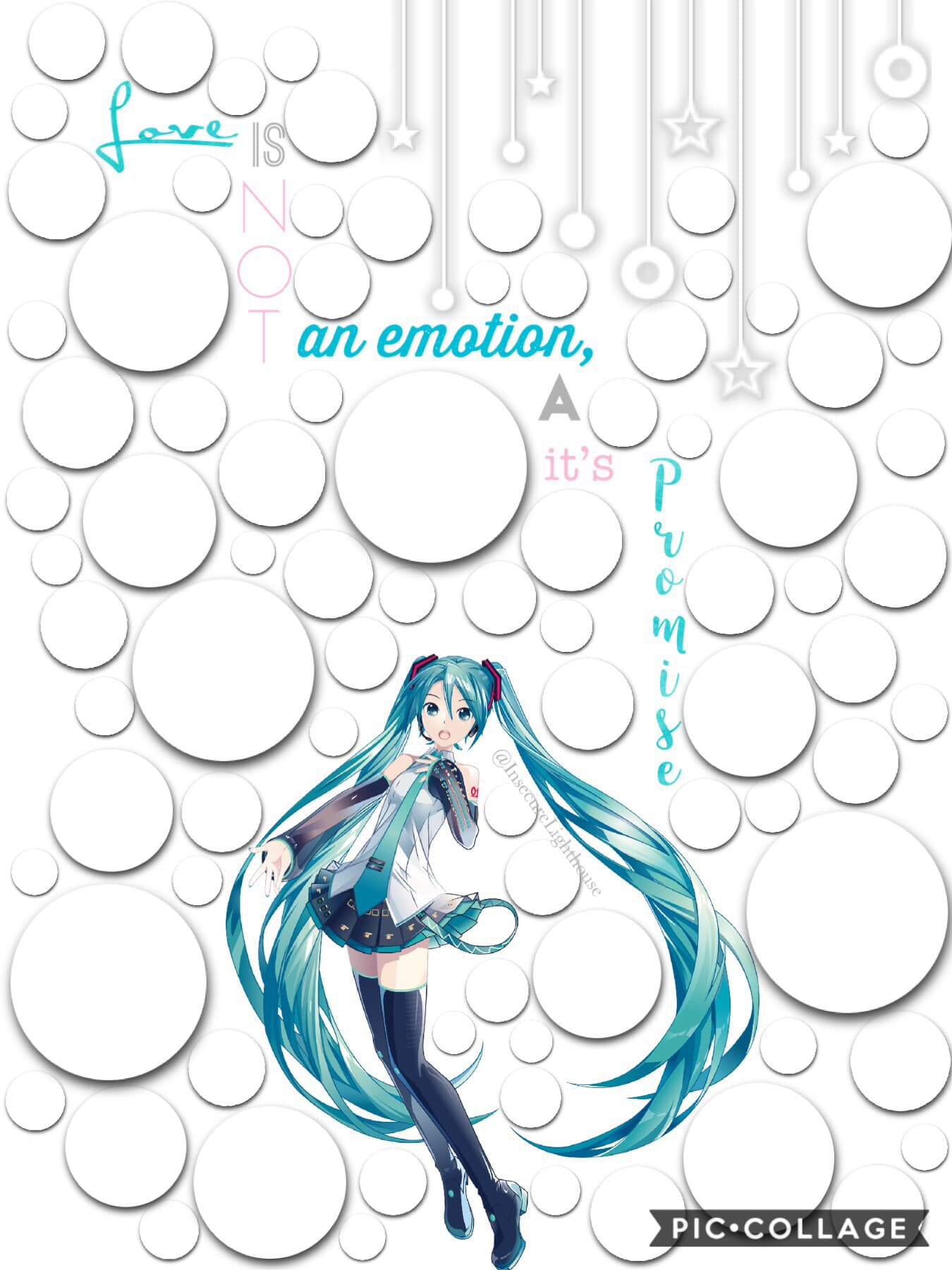 💙🖤Tap🖤💙 Hatsune Miku Edit!  Going for a Feature  Plz help me! I've never gotten a Feature before! It would be amazing!!