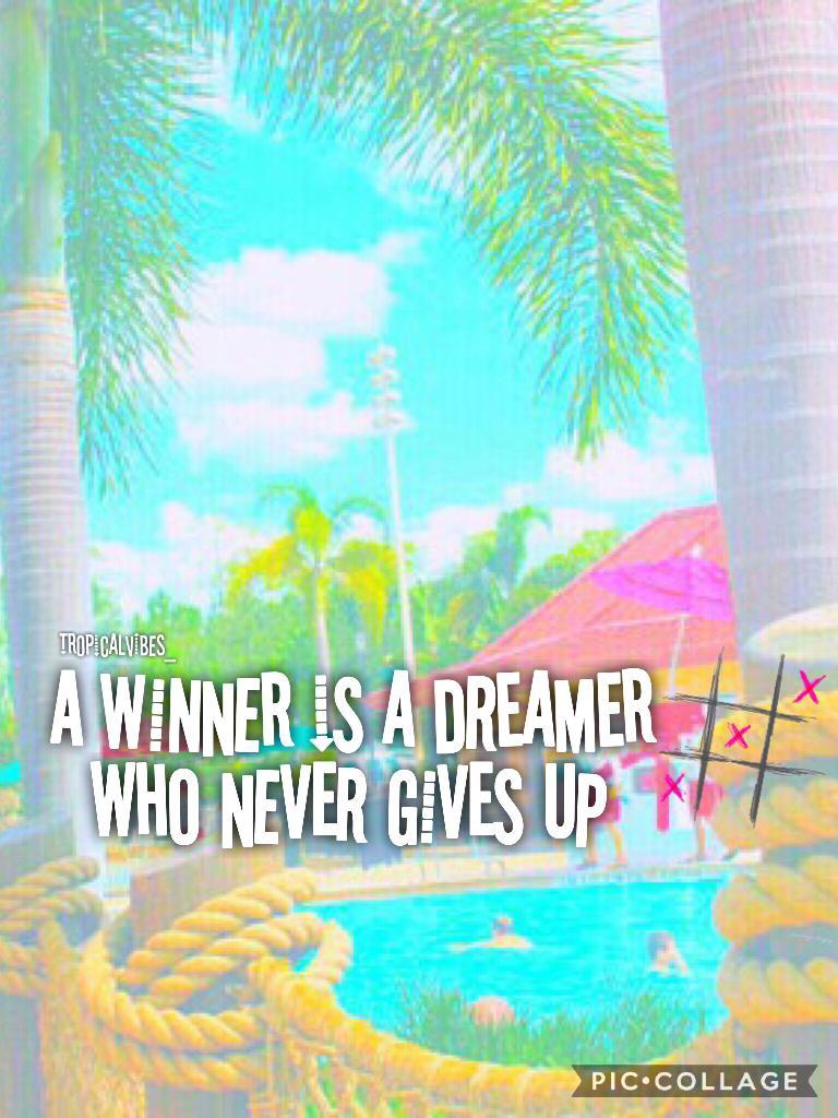 Winners are Dreamers