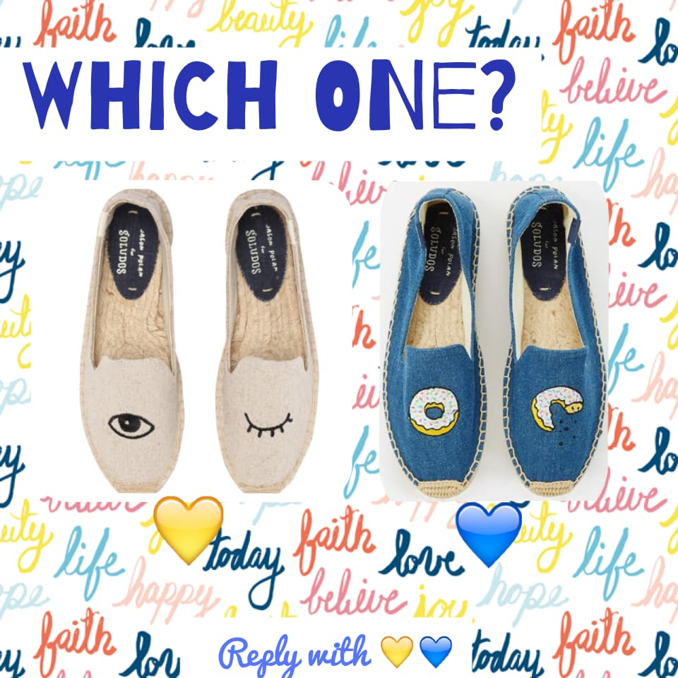 Which one? Reply with 💛💙!