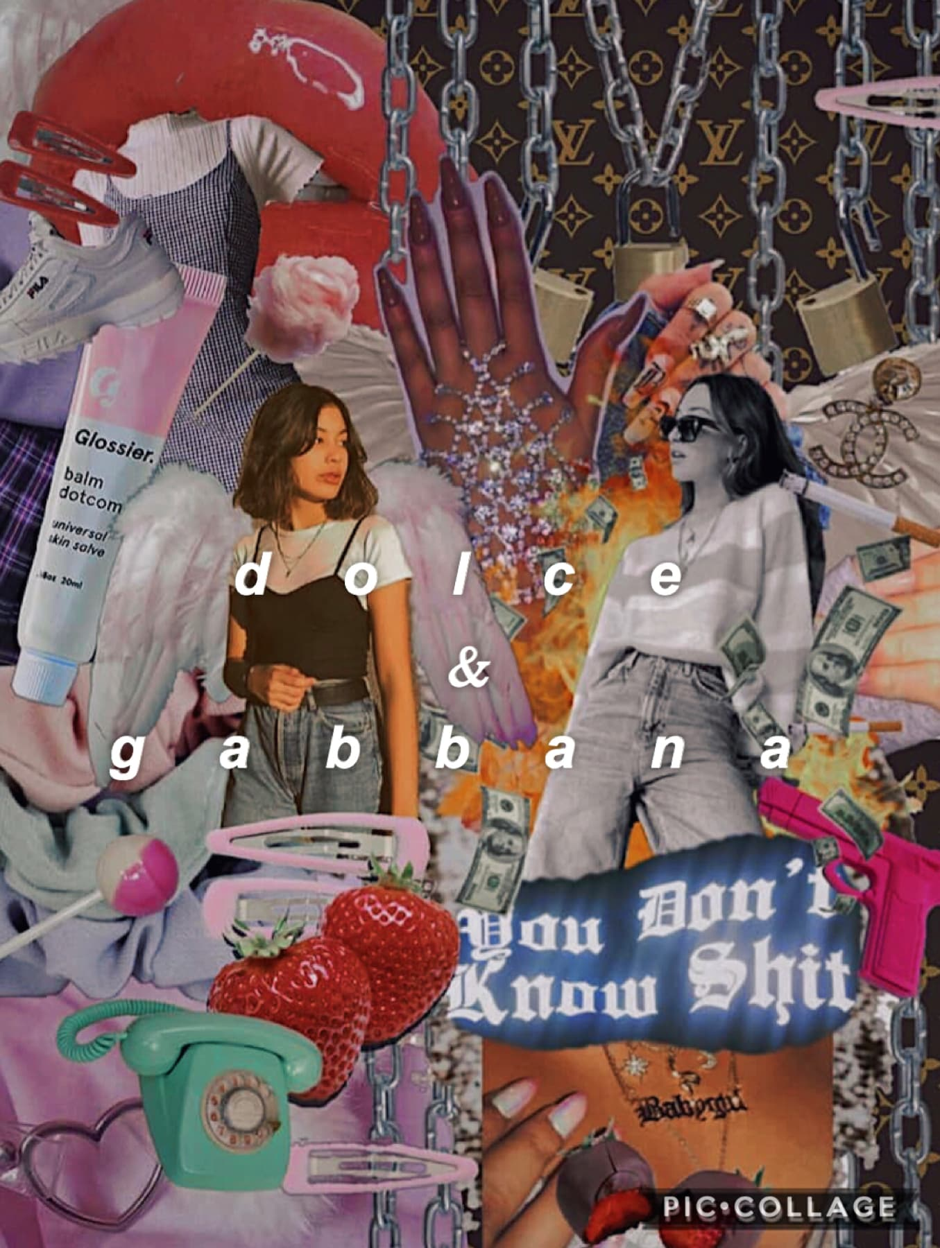 collab with....✨  *reposting bc i cant tell my right from left apparently*  my queen👑 my hotdog vendor🌭 my gabbana🥵 ✨@itssnyctophilia✨  she did the soft side on the LEFT which sLaps👏👏👏👏👏🥵  give my bb some love