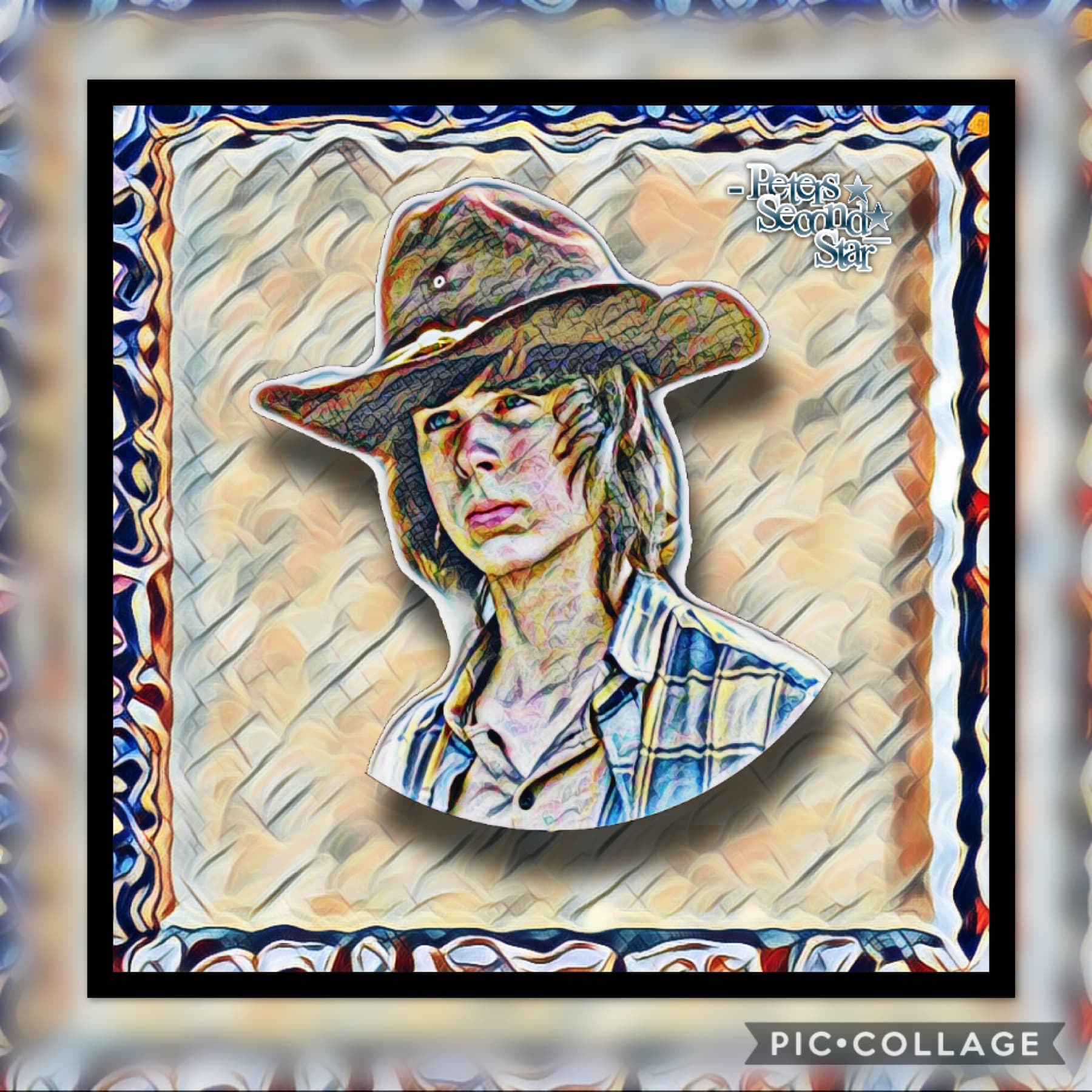 Tappp!!!  Happy Saturday and enjoy this edit of my handsome bean Carl Grimes 😻💕!!!!!!  rate/10💙✨