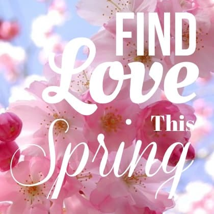 Let's find love this spring!🌸