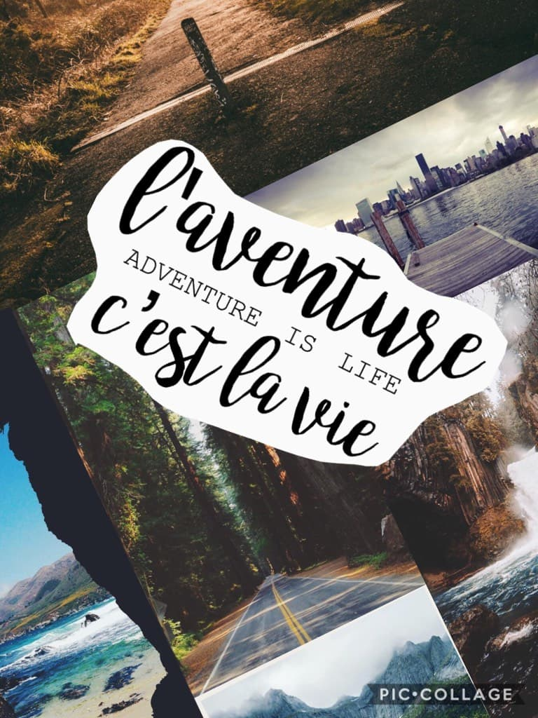 (TAP) ❤️l'adventure c'est la vie❤️ (TAP) *inspired by @mellowdandielions*