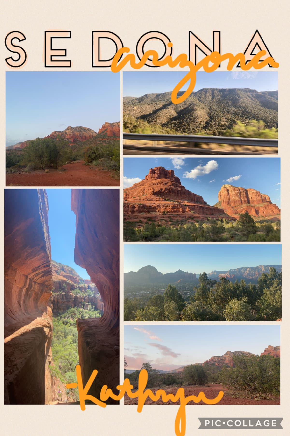 I've been pretty nonexistent around here lately, so I thought I'd give you guys a little update: just got back from an amazing trip to Sedona here are a few of my favorite pictures 💛☺️ hopefully I'll have an edit for you soon