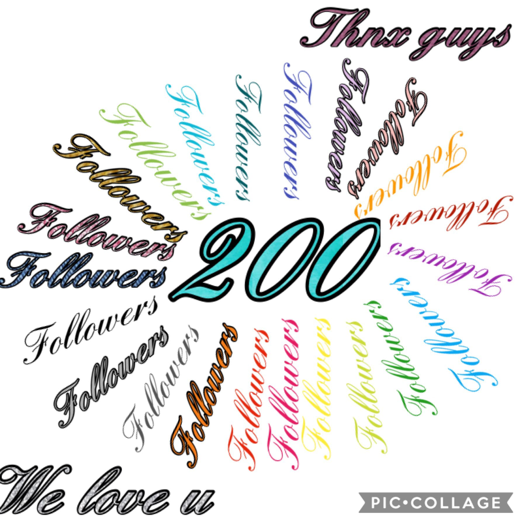 Thank u guys for 200 fans💜💜💜💜