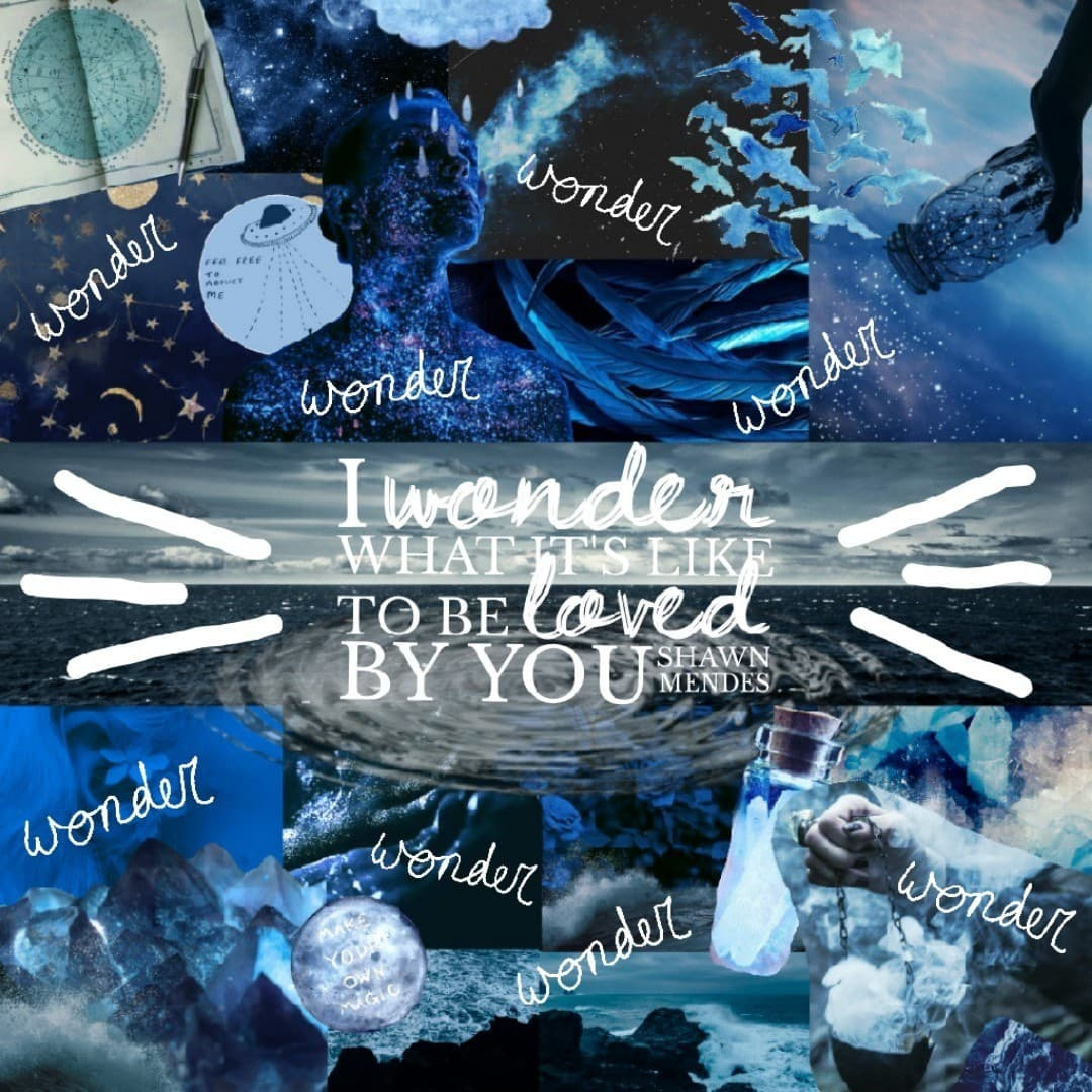 As soon as I heard this song I just knew I had to make a collage of it. Wonder - Shawn Mendes. Contest results will be up later this week :)