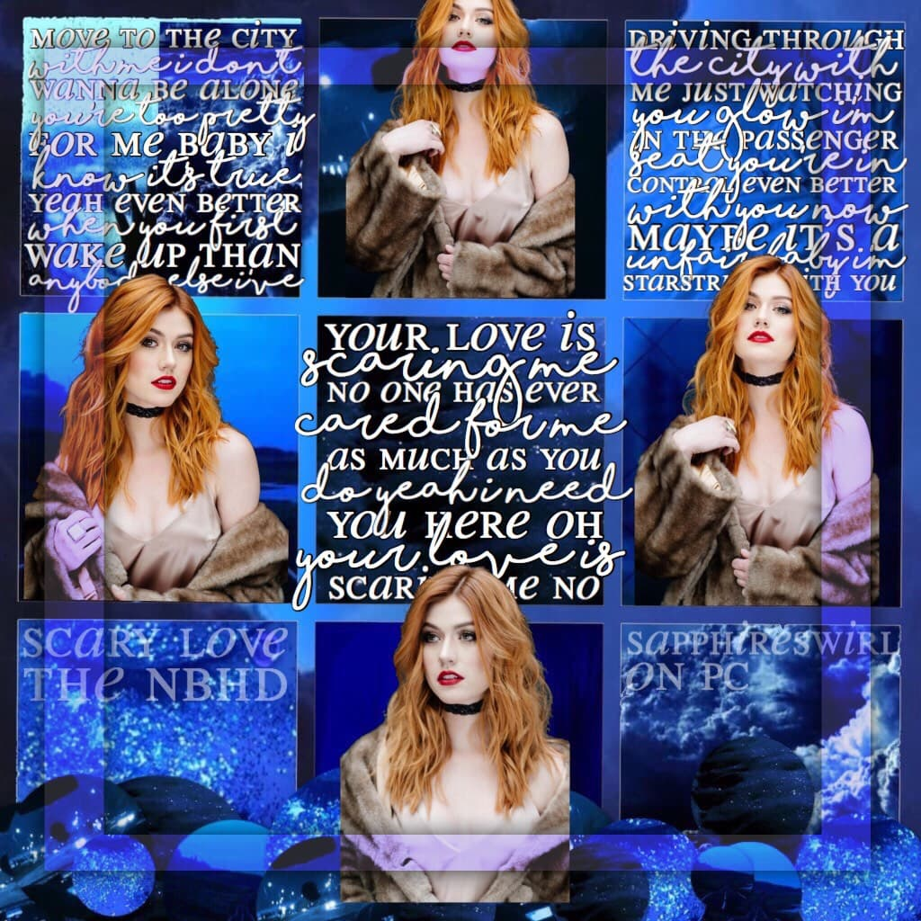 💙tap💙   kat mcnamara edit  lyrics from scary love by the nbhd  ahhHhHhhH im so hyped for the album out tonight wkcjkrkcwllcleksks