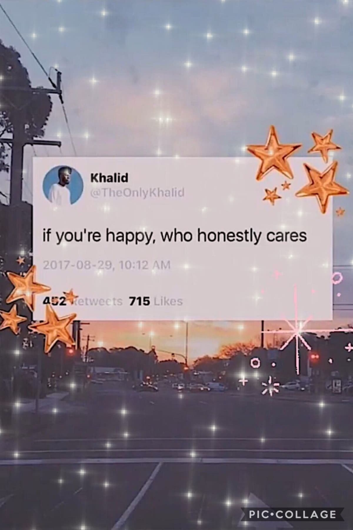 ⭐️If your happy who honestly cares⭐️