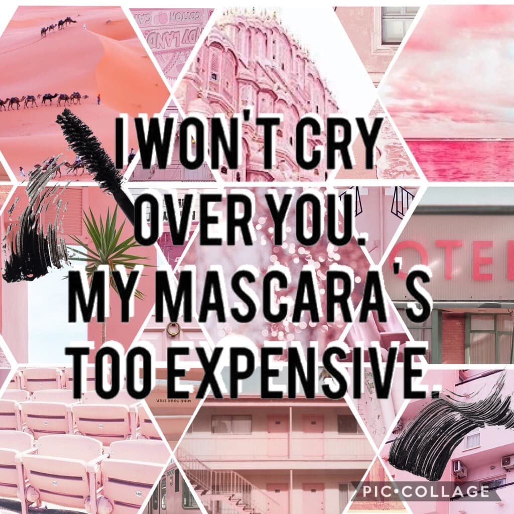 I'm not gonna waste anymore mascara on youuuuuu 👀💋 1.5k followers!!! TYSM my pearls ❤️ Haven't done a collab in a while first 3  people to ask can do one so be quick!!! 💗👠💅🏽